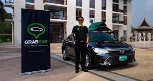 Grab Taxi Phuket launch