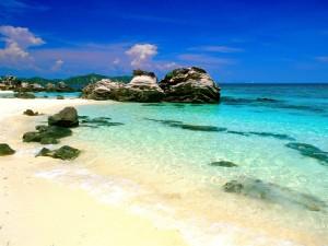 Phuket Beach in December