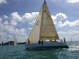 Sailing boat at Phuket