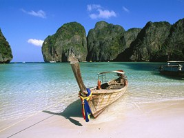 Longtail boat in Phuket