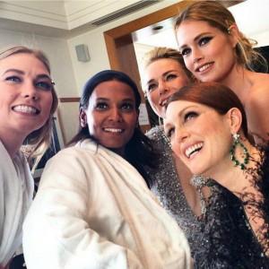 Cannes Film Festival 2015 celebrities karlie kloss liya kebede naomi watts julianne moore doutzen kroes