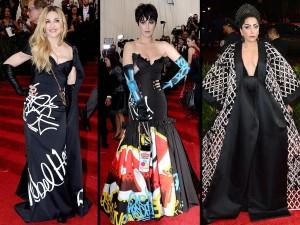 Madonna, Lady Gaga & Katy Perry at the Met Gala