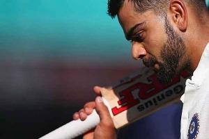 Virat Kholi the Indian team Captain Bangladesh Vs India