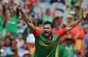 Murtoza the Bangladeshi team Captain Bangladesh Vs India