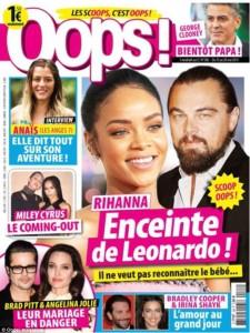 leonardo dicaprio rihanna baby oops magazine cover