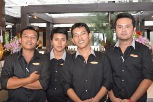 The Team at Firefly Lounge Natai Beach Resort and Spa