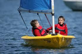 Kids sailing at Phuket Yacht Club