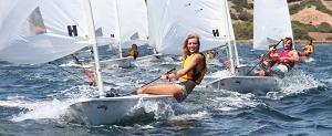 Phuket Yacht Club laser sailing